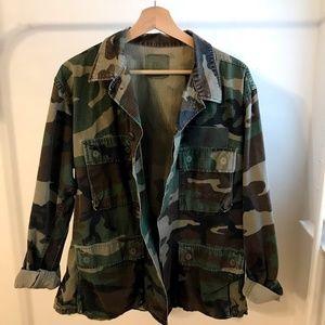 Vintage Camoflauge Jacket